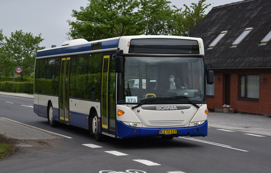 Vebbestrup Turistfart CZ72537 nær Ladelund den 28. maj 2021