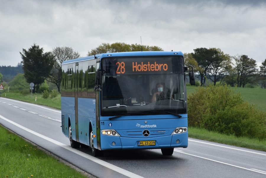 Skave Turistfart 11/AL23239 i Mønsted den 25. maj 2021