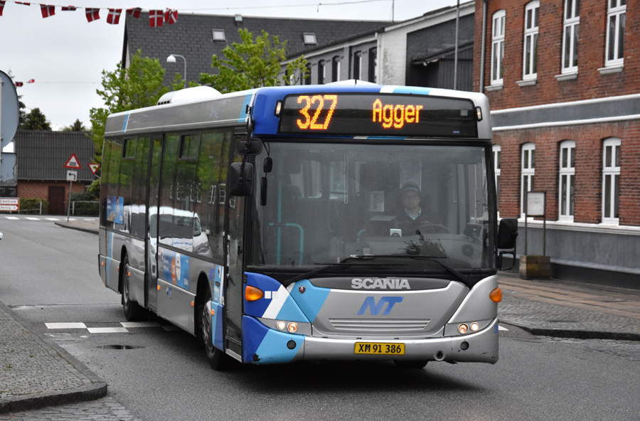 Arriva 3017/XM91386 i Hurup Thy den 26. maj 2021