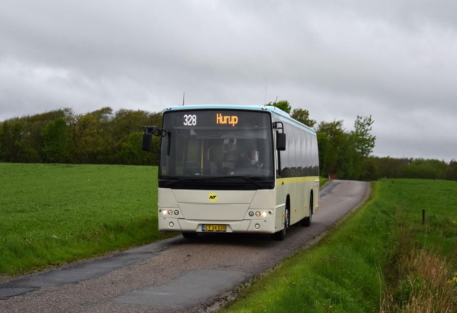 Morsø Bustrafik 83/CT14320 nær Hørsfelt den 26. maj 2021