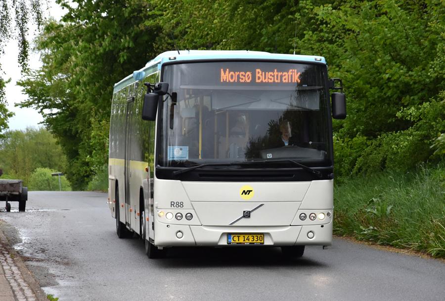 Morsø Bustrafik 88/CT14330 i Snedsted den 26. maj 2021