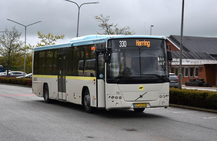 Morsø Bustrafik 73/CT14316 i Snedsted den 26. maj 2021