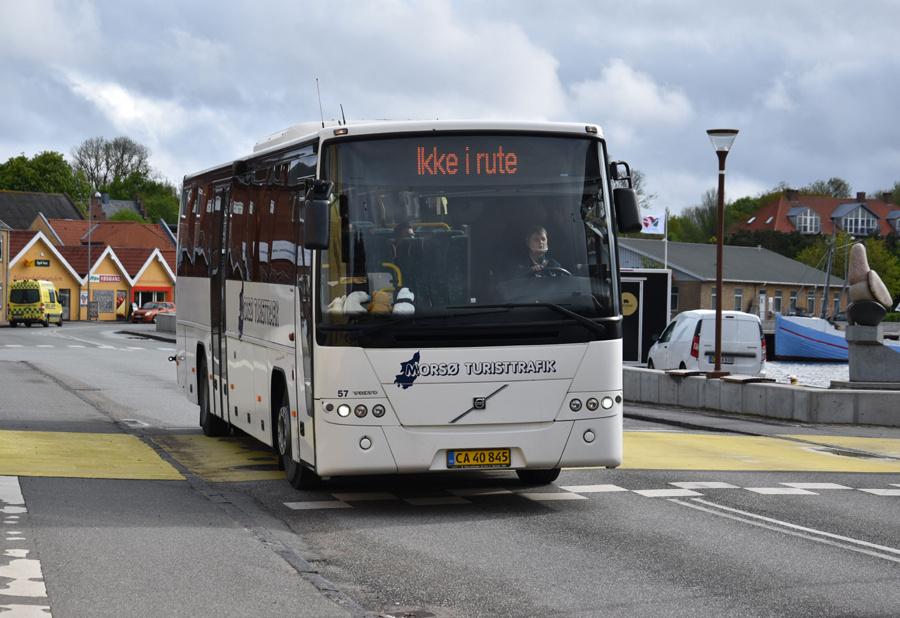 Morsø Bustrafik 57/CA40845 i Nykøbing Mors den 26. maj 2021