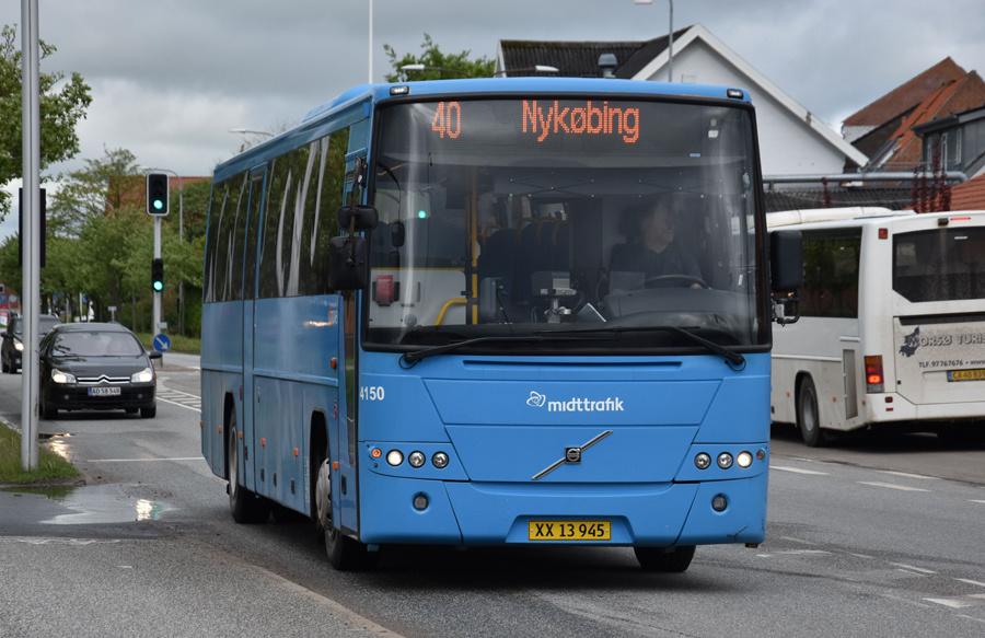 Umove 4150/XX13945 i Nykøbing Mors den 26. maj 2021