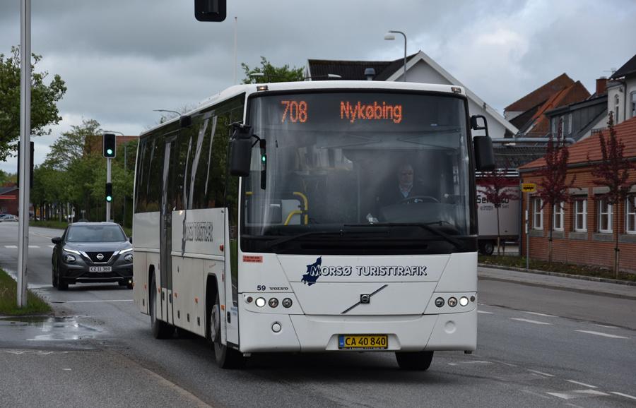 Morsø Bustrafik 59/CA40840 i Nykøbing Mors den 26. maj 2021