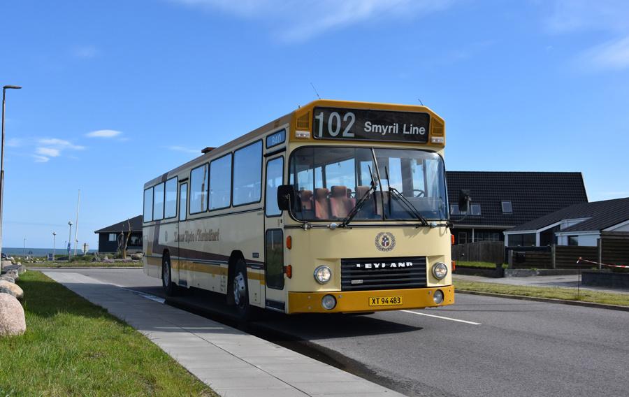 Hirtshals-Hjørring Busservice XT94483 i Hirtshals den 27. maj 2021