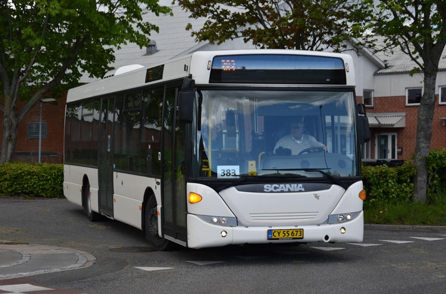 Vebbestrup Turistfart CY55673 i Bælum de 27. maj 2021
