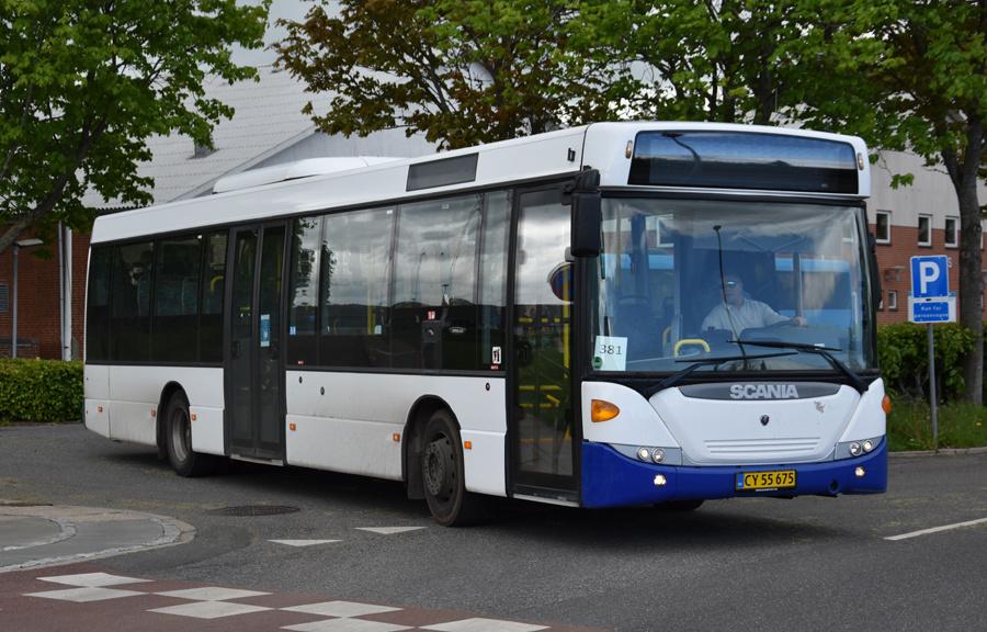 Vebbestrup Turistfart CY55675 i Bælum de 27. maj 2021