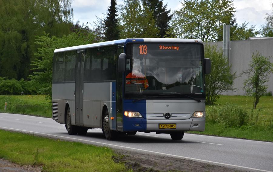 Terndrup Turistbusser AW72405 i Nørager de 27. maj 2021