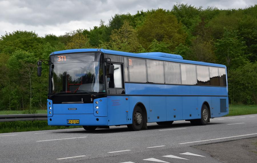 Vebbestrup Turistfart CK53526 i Nørager de 27. maj 2021