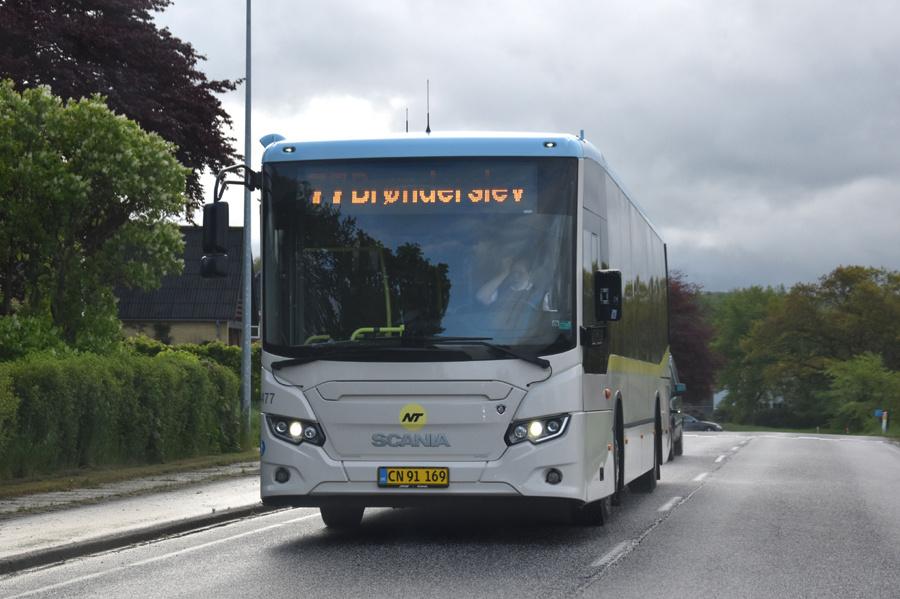 Ditobus 6477/CN91169 nær Hallund den 27. maj 2021