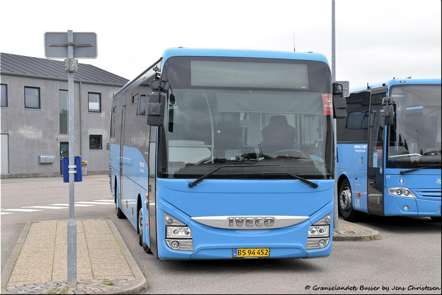 Brande Buslinier 68/BS94452 i Skjern den 29. august 2021