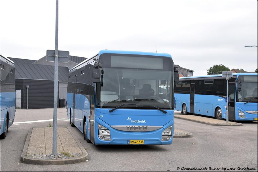 Brande Buslinier 65/BN47738 i Skjern den 29. august 2021