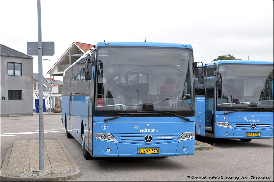 Brande Buslinier 61/CN97370 i Skjern den 29. august 2021