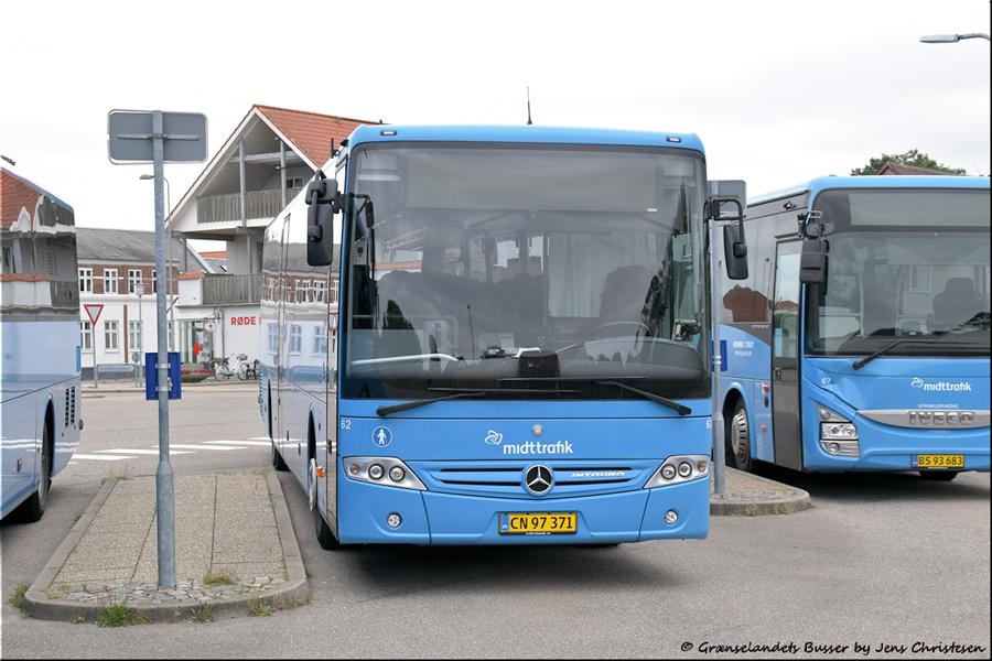 Brande Buslinier 62/CN97371 i Skjern den 29. august 2021
