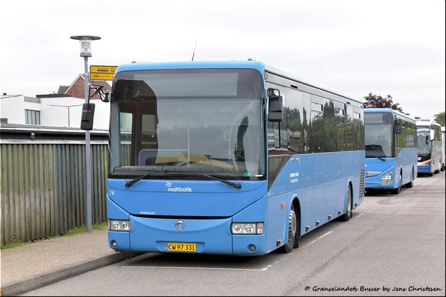 Brande Buslinier 76/CW97331 i Skjern den 29. august 2021