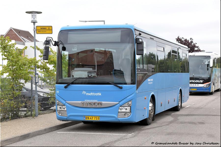 Brande Buslinier 66/BN47733 i Skjern den 29. august 2021