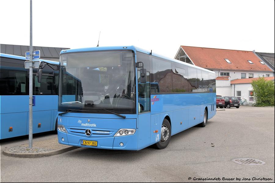 Silkebus 71/CN97381 i Skjern den 29. august 2021
