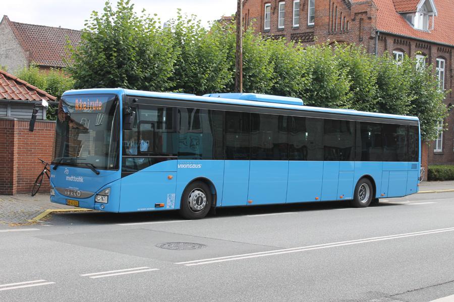 Vikingbus 5014/DB63231 på Sønder Allé i Aarhus den 3. august 2021