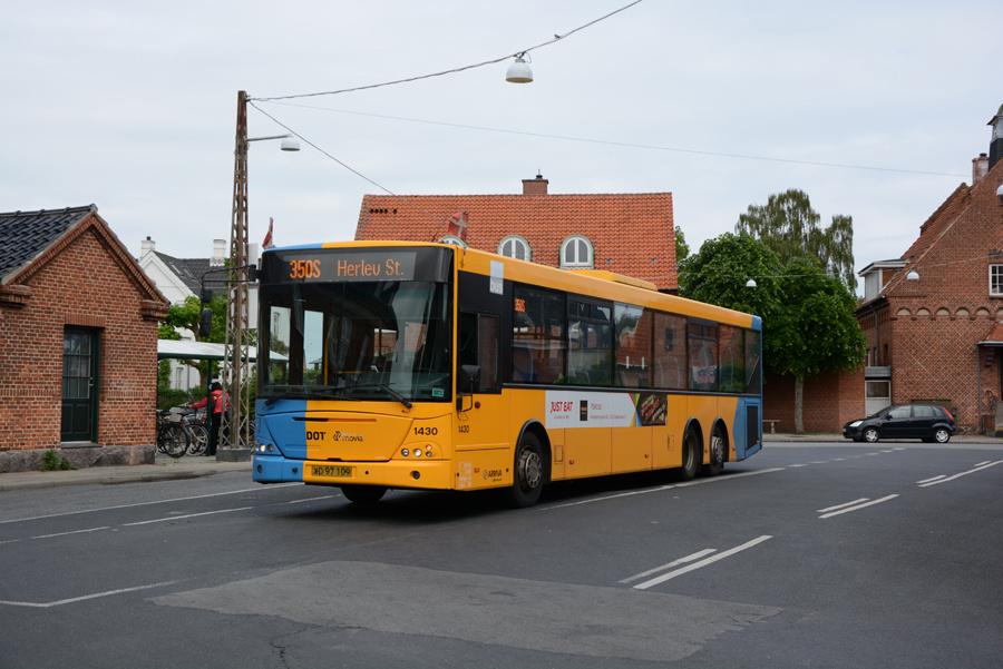 Arriva 1430/XD97109 ved Dragør Stationsplads den 7. juni 2019