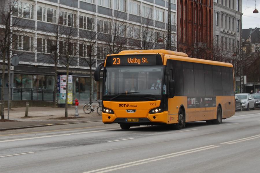 Umove 7512/AL94006 på Dag Hammerskjölds Allé i København den 7. februar 2021