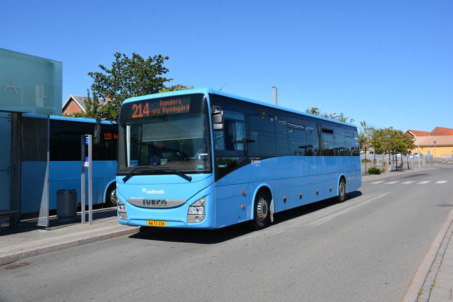 Arriva 2386/AW73336 ved Grenaa Station den 16. juli 2019