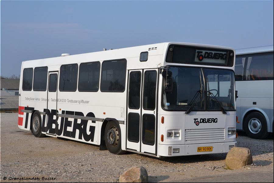 Todbjerg Busser NX90901 i garagen i Brabrand den 21. april 2012