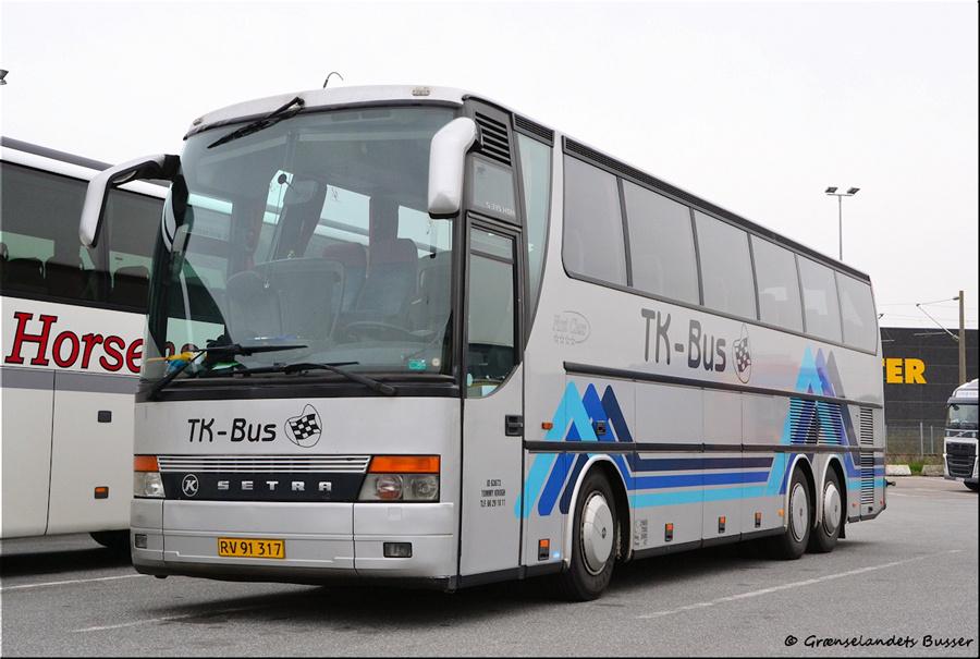 TK-Bus 7/RV91317 i Harrislee i Tyskland den 6. maj 2014