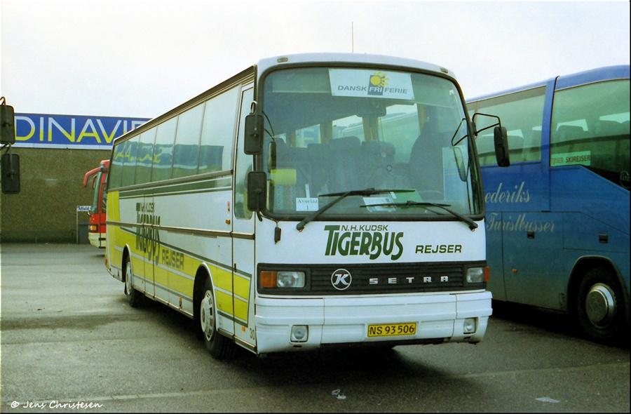 Tigerbus Rejser 30/NS93506 i Harrislee i Tyskland i 1999