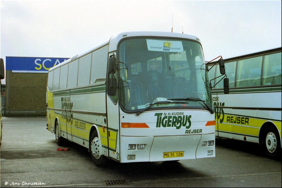 Tigerbus Rejser 21/MS91126 i Harrislee i Tyskland i 1999