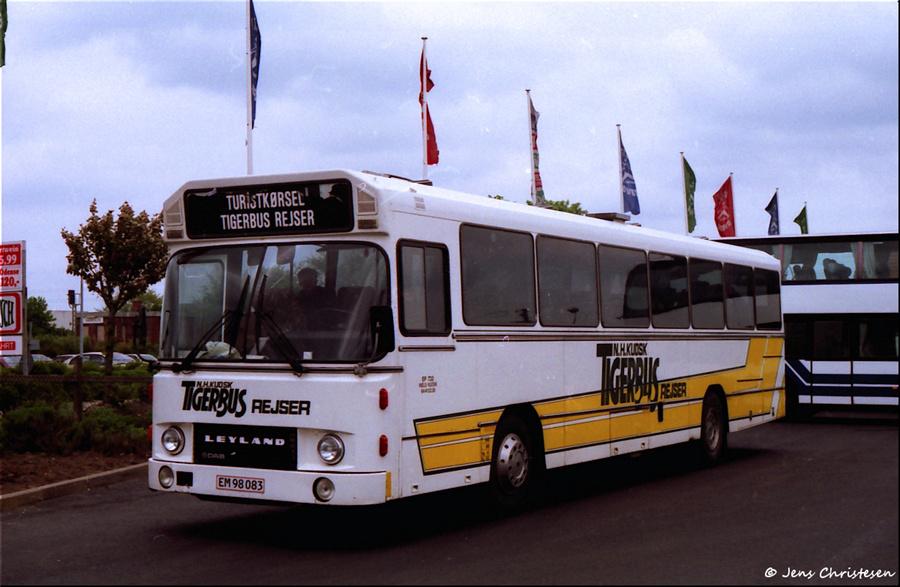 Tigerbus Rejser 10/EM98083 i Harrislee i Tyskland