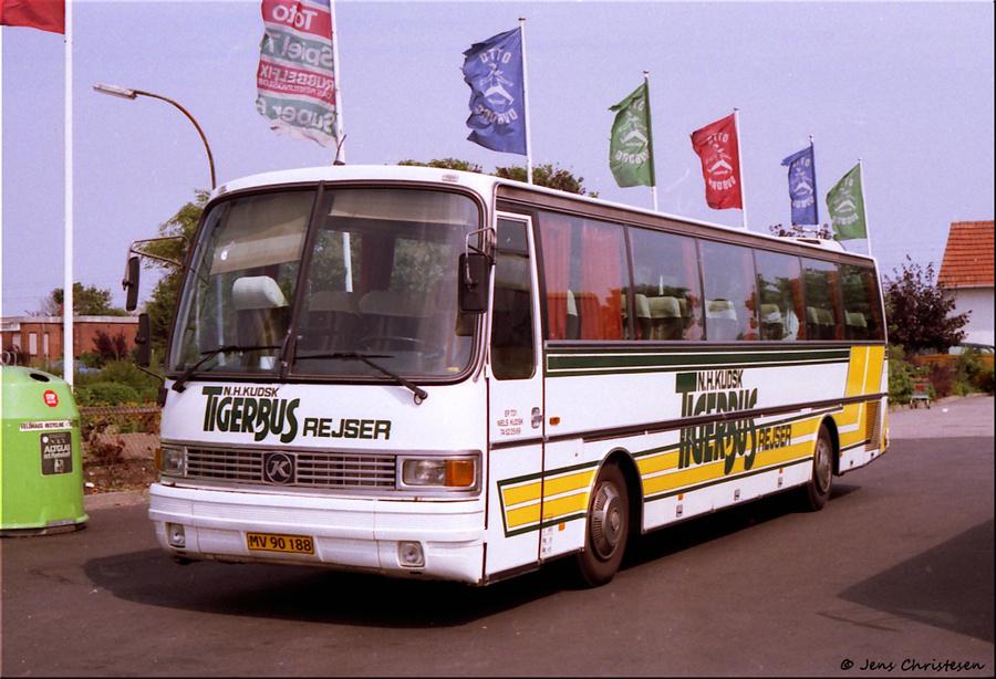 Tigerbus Rejser MV90188 i Harrislee i Tyskland den 11. august 1996
