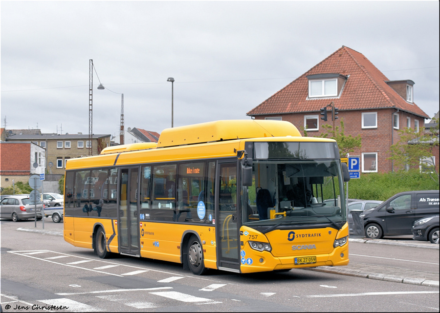 Umove 757/BK27059 ved Sønderborg Busstation den 17. september 2021
