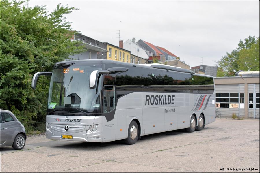 Roskilde Turistfart 10/CL69262 på det gamle DSB garageanlæg i Sønderborg den 17. september 2021