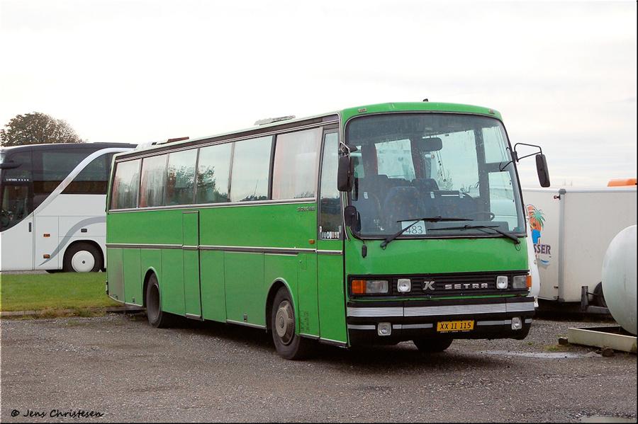 Terndrup Turistbusser XX11115 i Terndrup den 6. oktober 2012