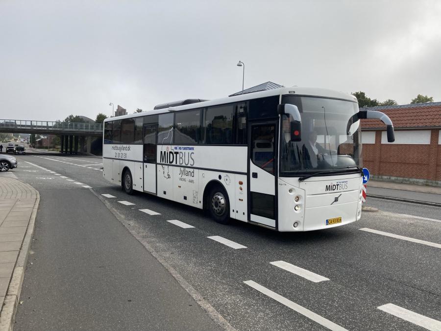 Midtbus Jylland 176/CA93816 på Koldingvej i Viborg den 1. september 2021