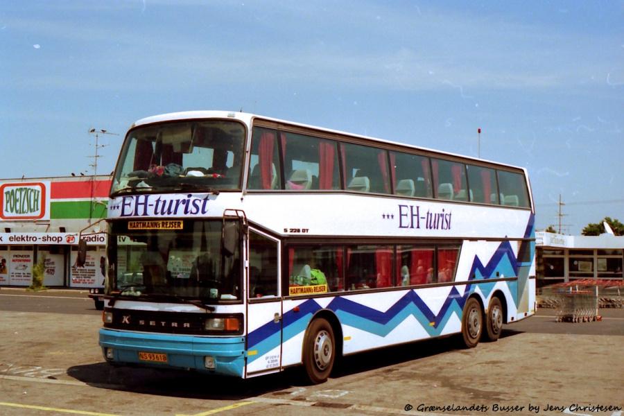 EH-turist NS93618 i Harrislee i Tyskland den 3. juli 1994