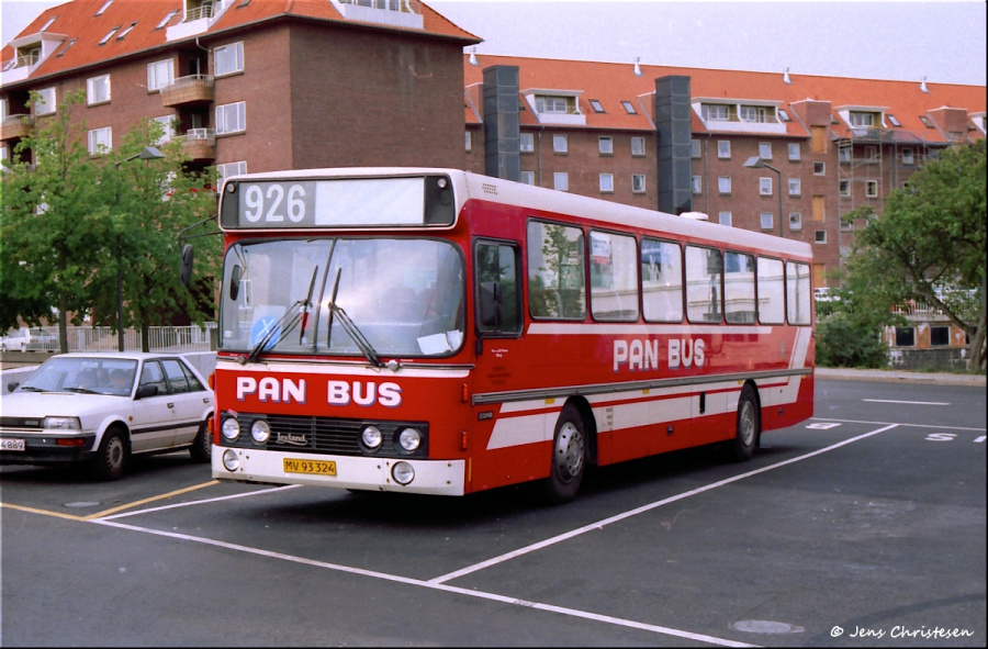 Pan Bus 155/MV93324 ved Vejle Trafikcenter