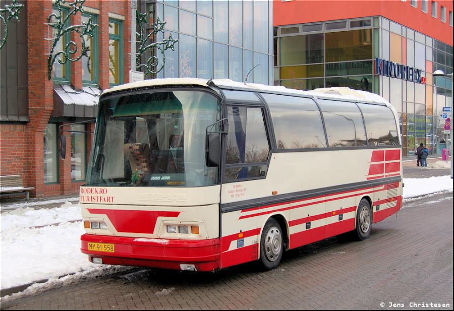 Rødekro Turistfart MY91558 i Flensburg i Tyskland den 28. december 2005