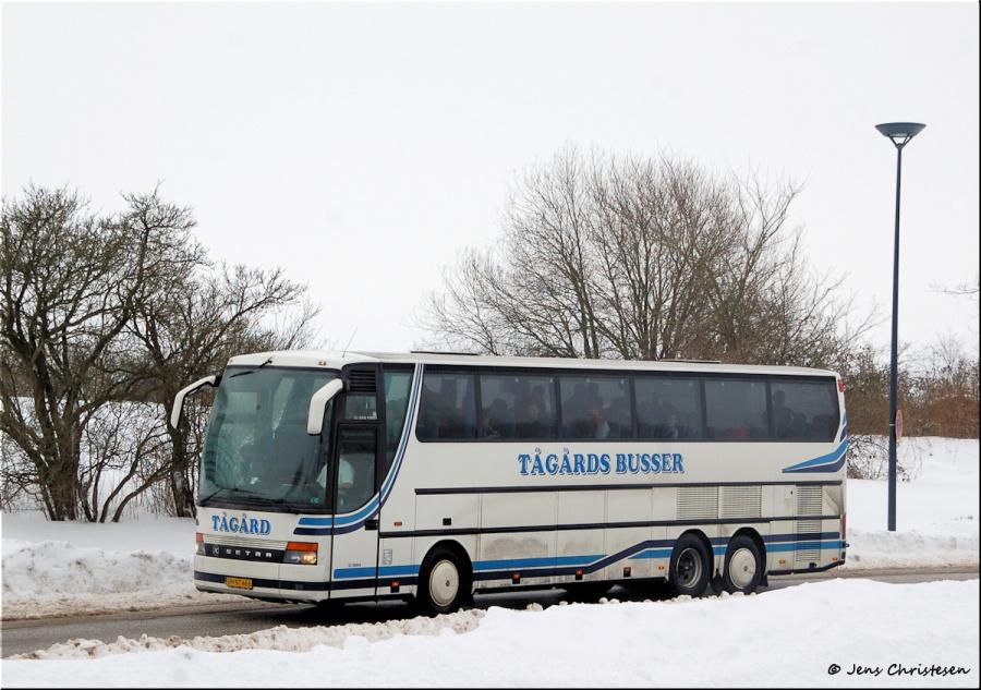 Tågårds Busser CF88571 på Campusallee i Flensburg i Tyskland den 14. februar 2010