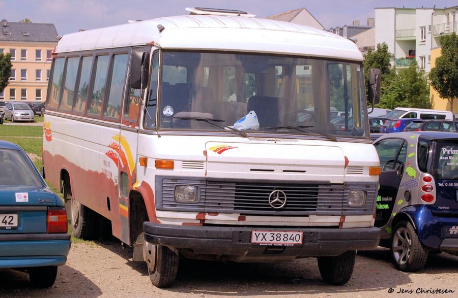 ? YX38840 på Exe i Flensburg i Tyskland den 1. juli 2008