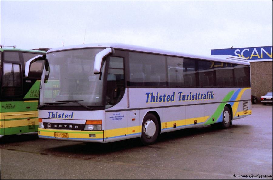 Jørgen Vestergaard OZ91566 i Harrislee i Tyskland i januar 1998