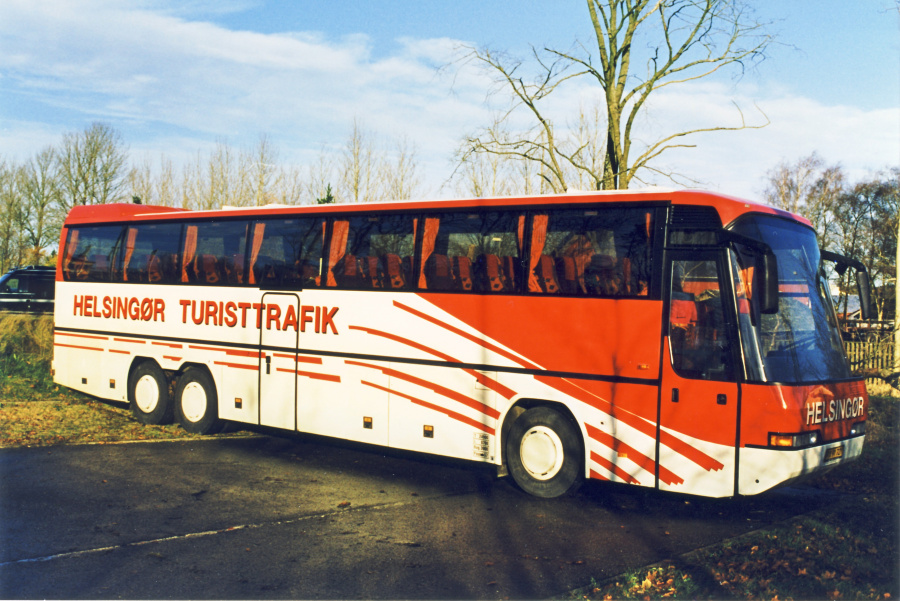 Helsingør Turisttrafik PX91721 i Rebild d. 13. november 1999