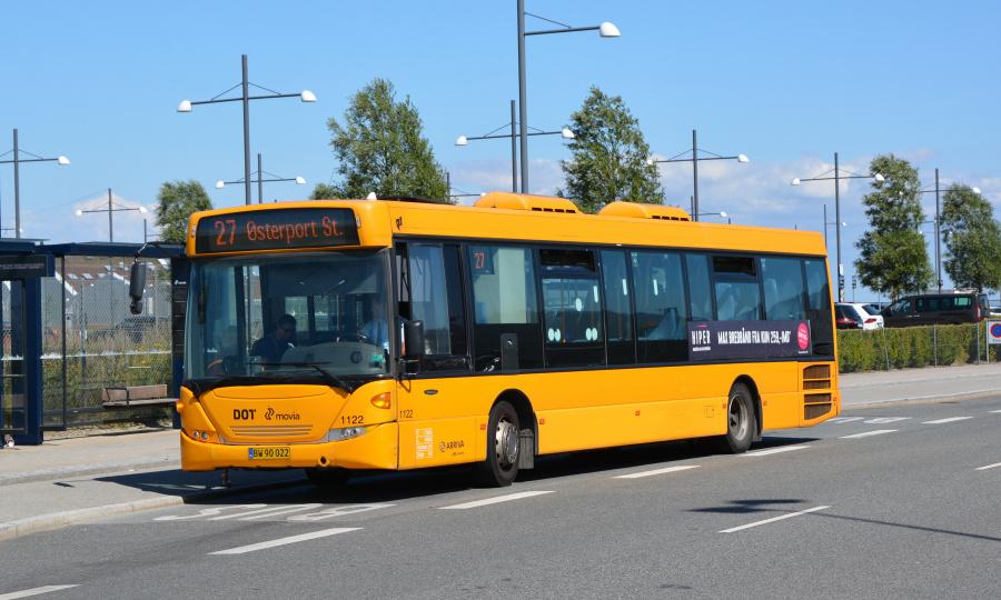 Arriva 1122/BW90022 ved Oceankaj i København den 18. juli 2019