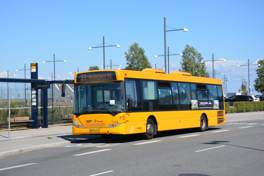 Arriva 1119/BW90019 ved Oceankaj i København den 18. juli 2019