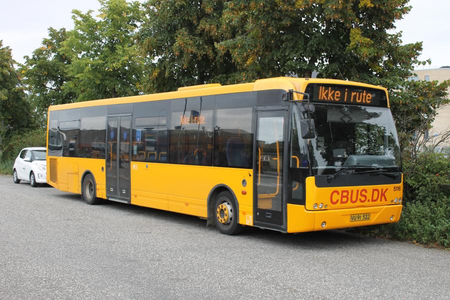 ColumBus 5116/VU91522 på Hillerød Station d. 24. september 2021