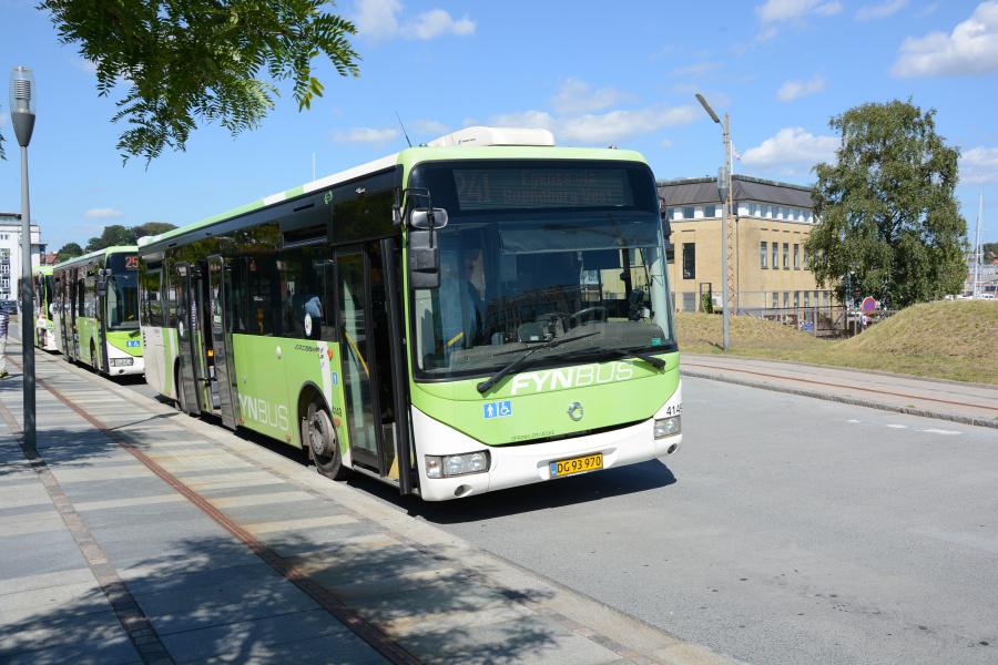 Arriva 4149/DG93970 ved Svendborg Rutebilstation den 23. juli 2019