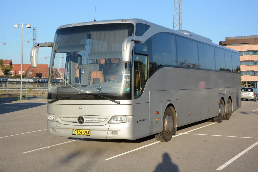 Herning Bilen/CT51093 ved Ringsted Station den 9. oktober 2021