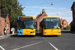 Arriva 1576 og Bus Danmark 1950
