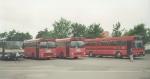 Rugaard, DSB 607, DSB 612 og Sechers Rutebiler 4